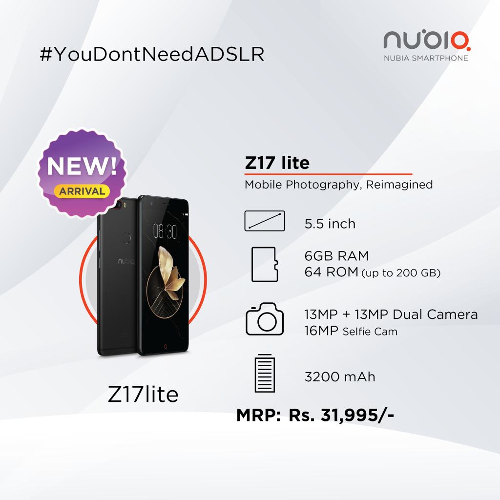 nubia z17 lite facebook post nepal