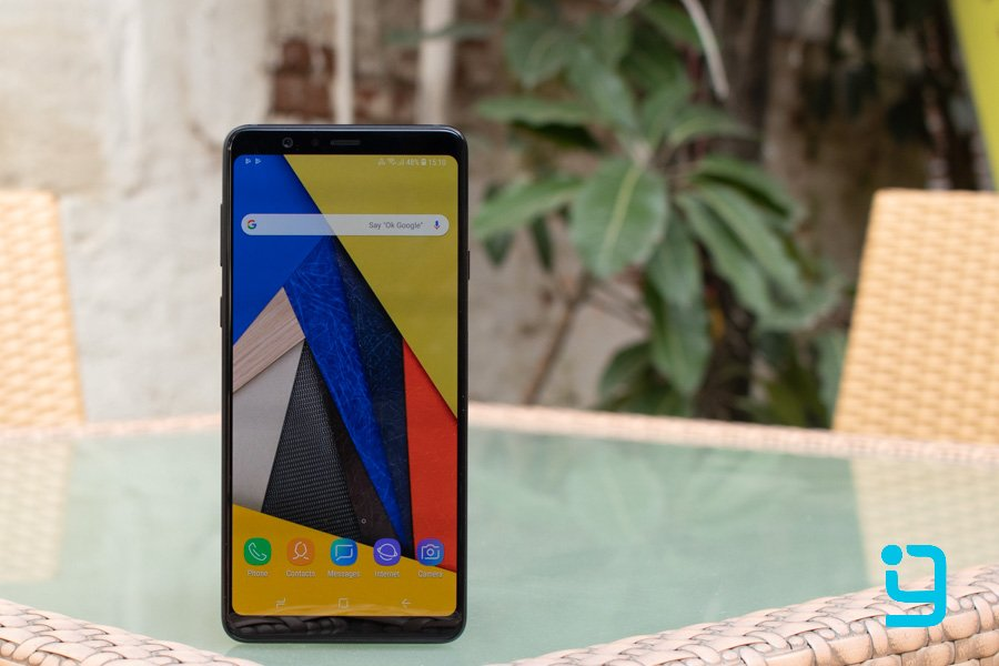 samsung galaxy A8 star display review
