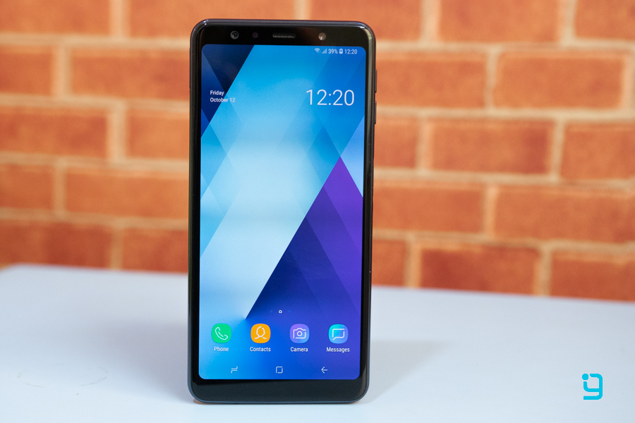 samsung galaxy a7 2018 display