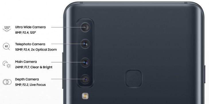 samsung galaxy a9 2018 four cameras