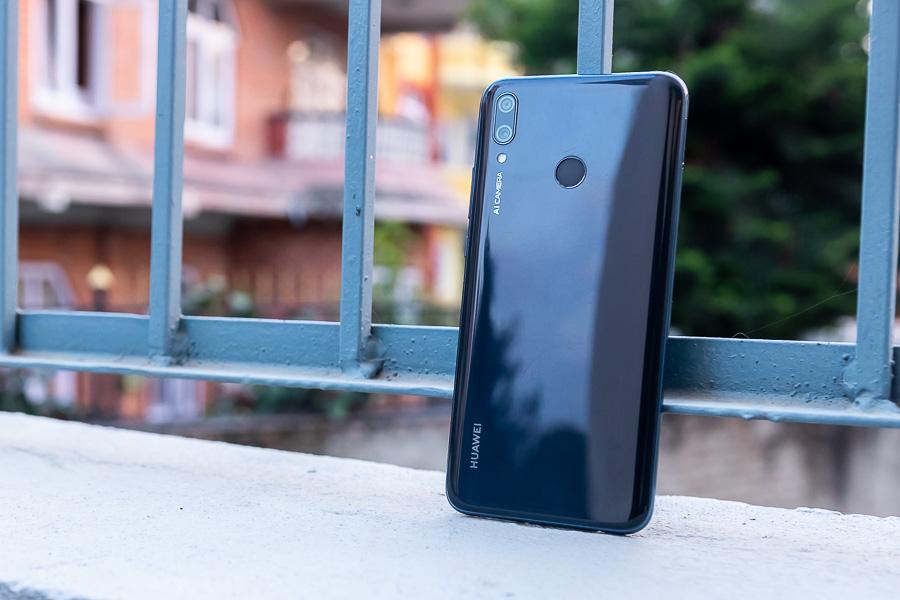 Huawei y9 2019 design build