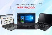 best laptops under 50000 in nepal