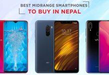 best midrange smartphones nepal