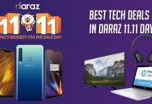top 11 daraz 11.11 tech deals