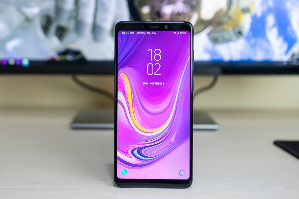 samsung galaxy a9 2018 display
