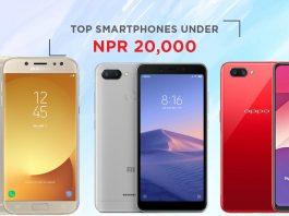 top smartphones under 20000