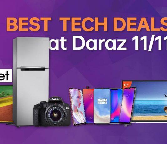 top tech deals daraz 11.11