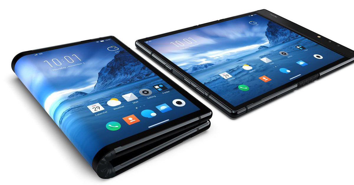 flexpai worlds first foldable smartphone