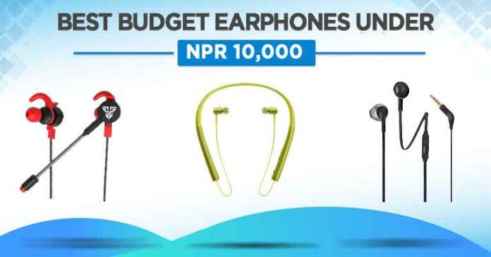 Best Budget Earphones under 10000 Nepal