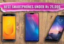 Best Smartphones in Nepal Under Rs. 25,000 in 2019