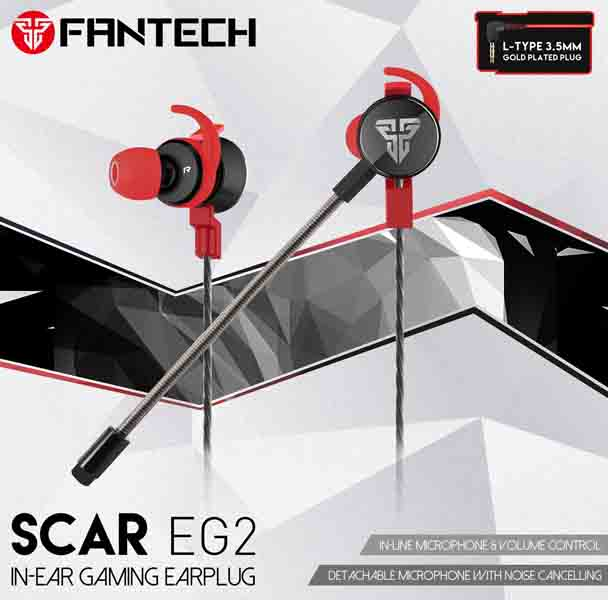 Fantech Scar EG2 Gaming Earplug