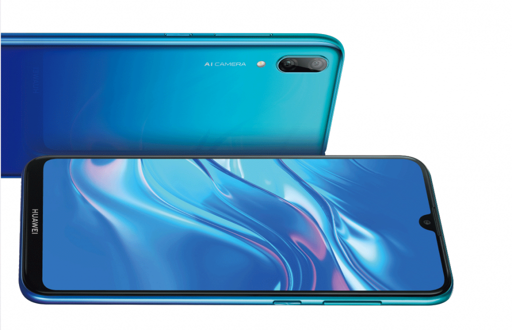 huawei enjoy 9 aurora blue