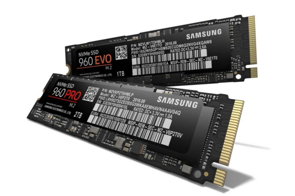 Samsung 960 EVO PCIe NVMe M.2 SSD
