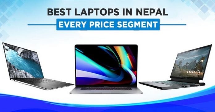 best laptops in nepal in every price range budget gaming students content creation