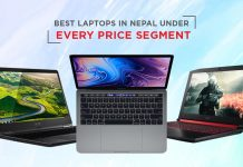 best laptops nepal every price segment