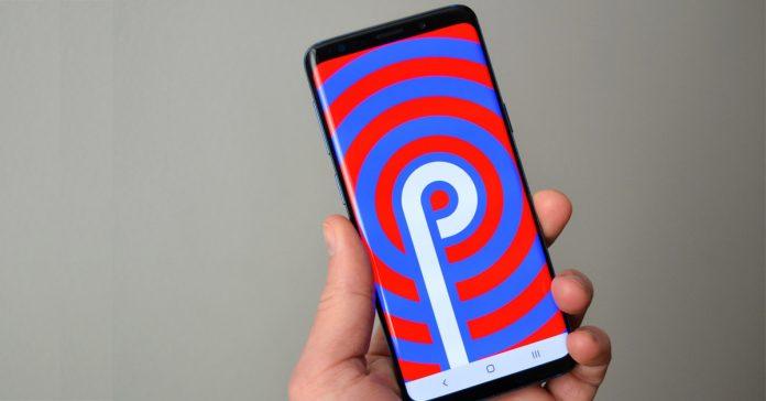 samsung smartphones android pie update
