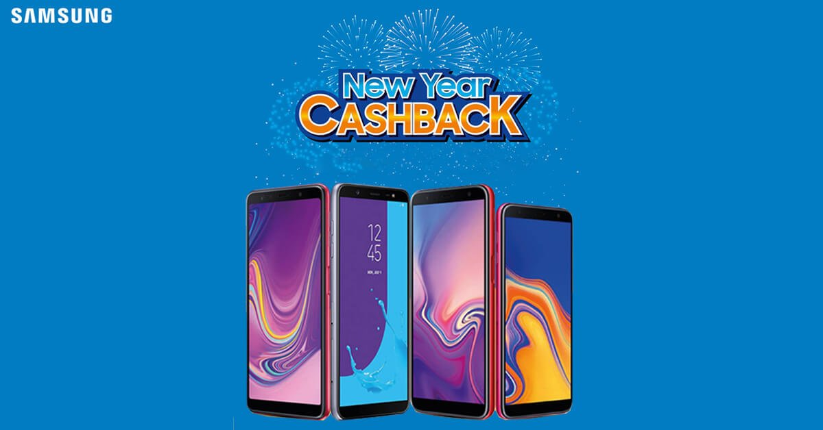c9c1650254f Samsung New Year Cash Back Offer is here  Discounts on 4 smartphones