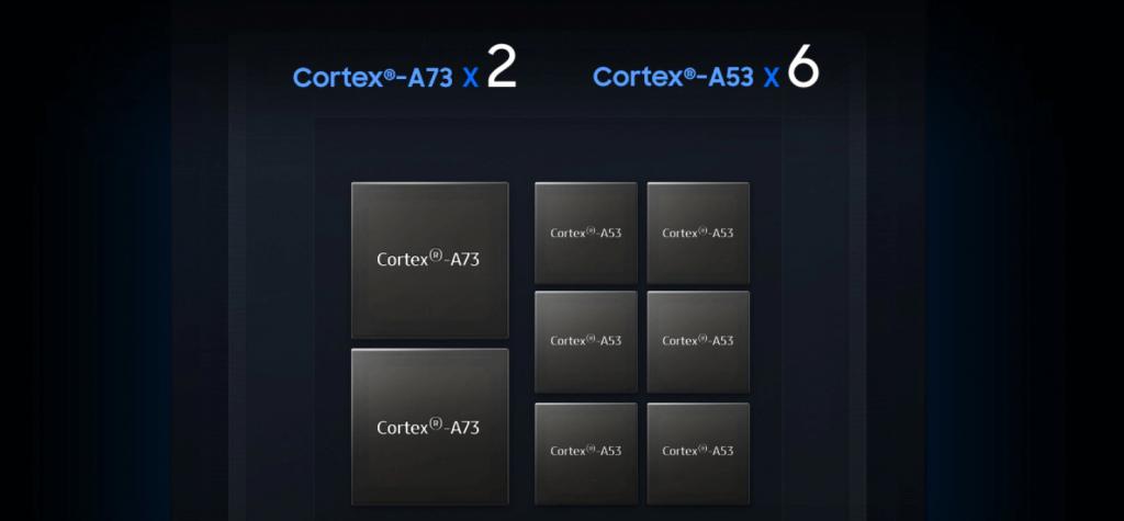 Exynos 7904 Cortex A73