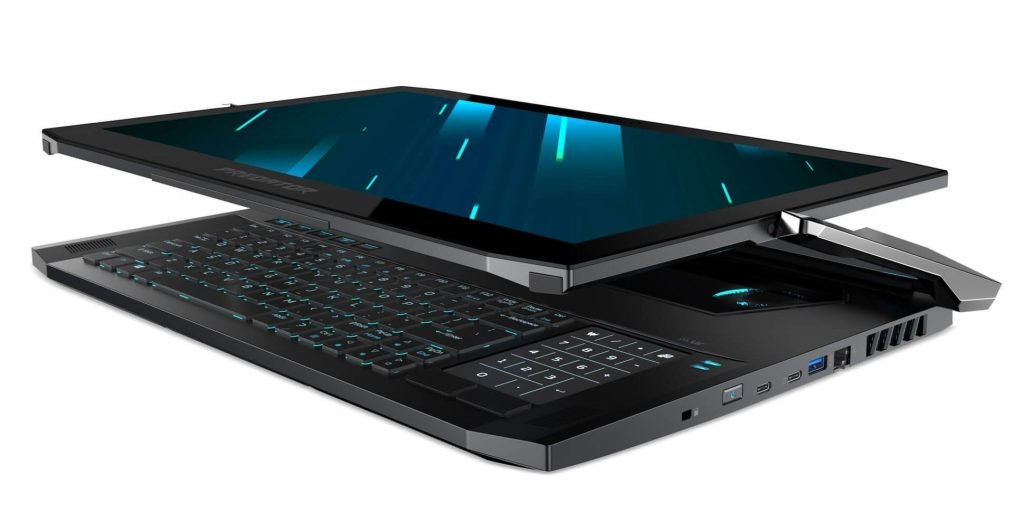 acer predator triton 900 tablet mode
