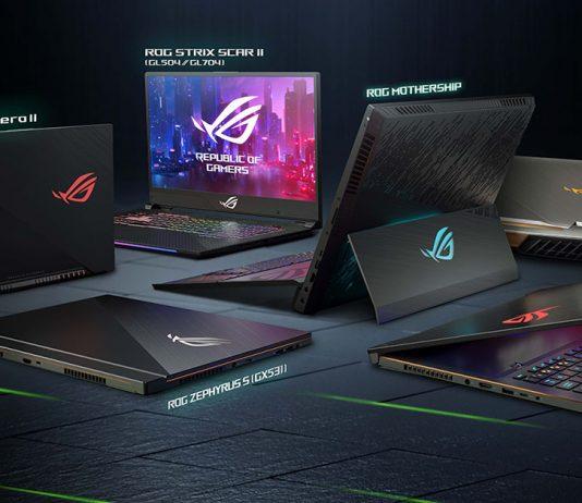 asus laptops ces 2019