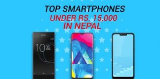 top smartphones under 15000 in Nepal