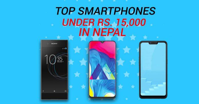 top smartphones under 15000 in Nepal