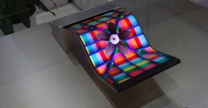 boe foldable display