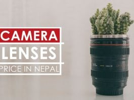 camera lenses price nepal