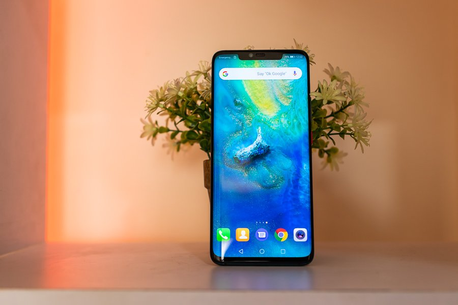 huawei mate 20 pro notched display