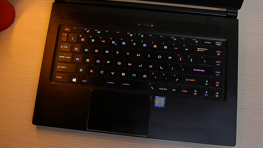 msi gs65 stealth keyboard