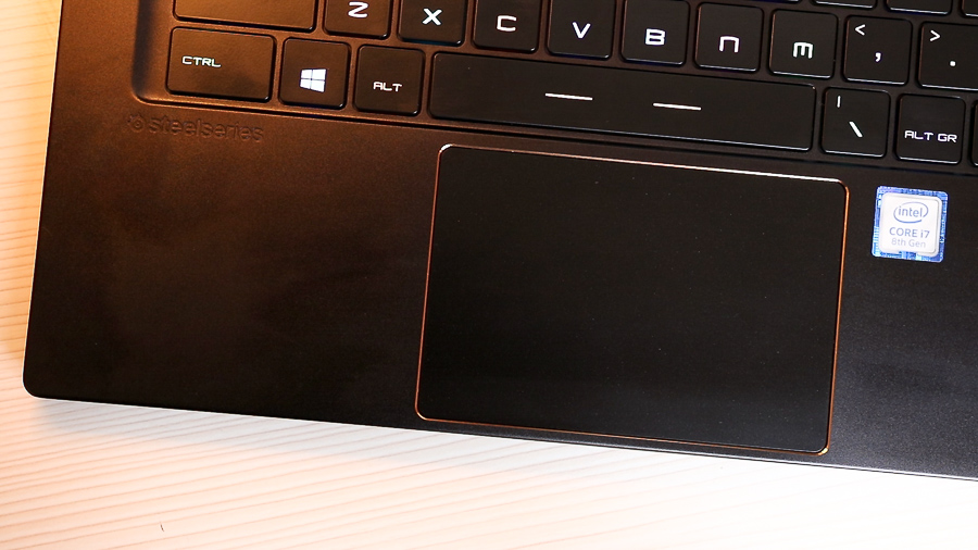 msi gs65 stealth trackpad