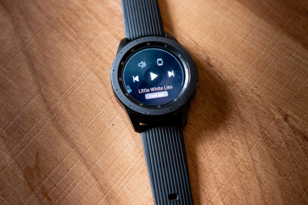 samsung galaxy watch music player
