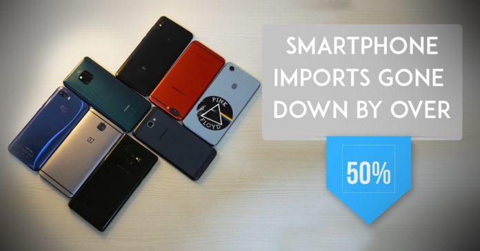 smartphone import drop nepal