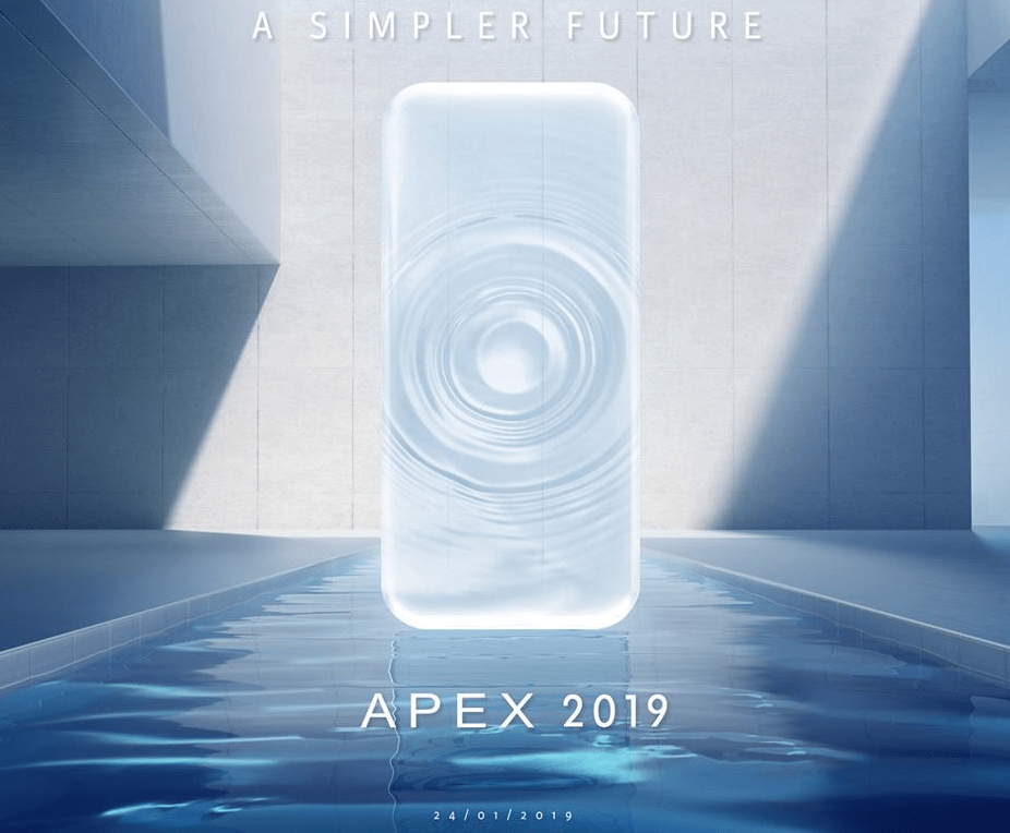 vivo apex 2019 launch date official teaser