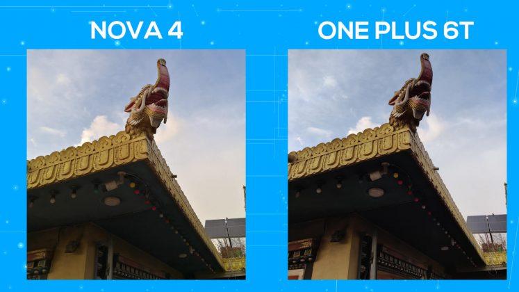 Huawei Nova 4 vs OnePlus 6T camera comparison dynamic range 2