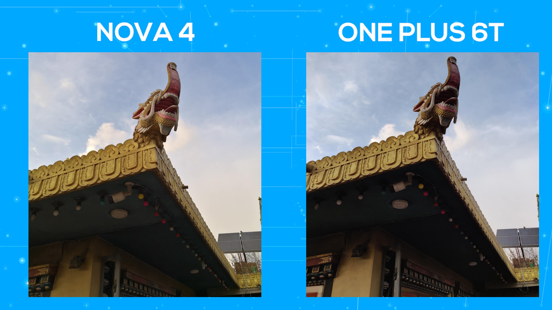 Huawei Nova 4 vs OnePlus 6T camera comparison dynamic range 2