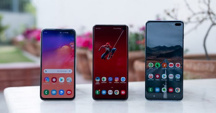 Samsung Galaxy S10 series price nepal