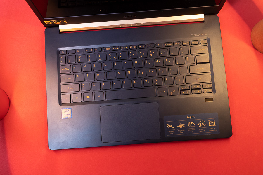 acer swift 5 keyboard
