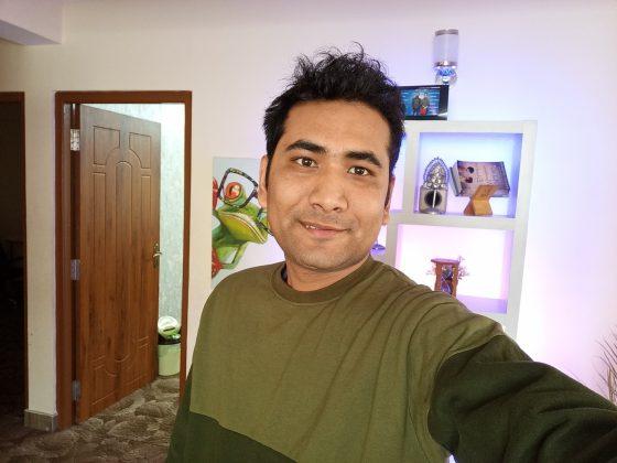 lava r5 selfie