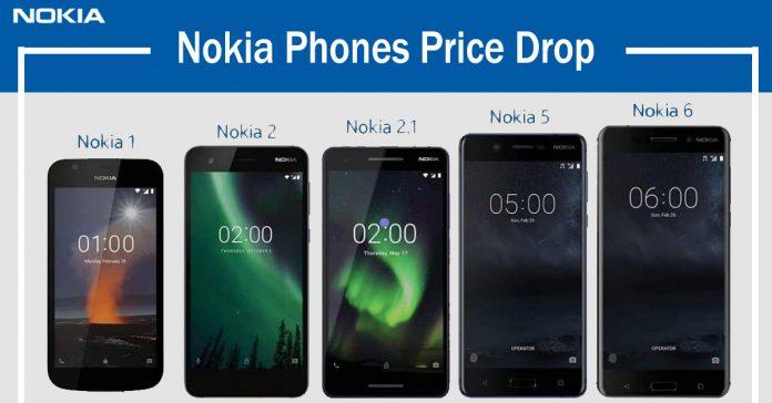nokia phones price drop nepal