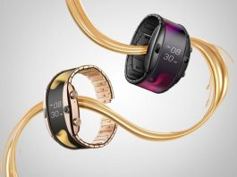 nubia alpha flexible smartwatch
