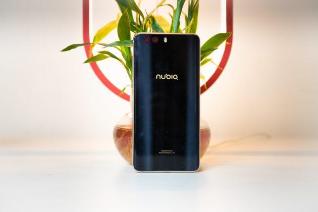 nubia z17 minis design