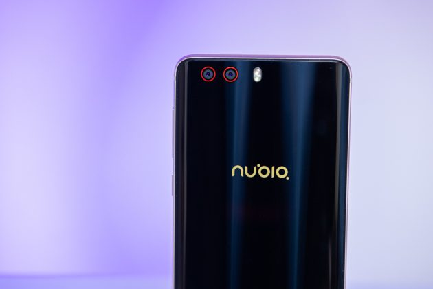 nubia z17 minis rear camera