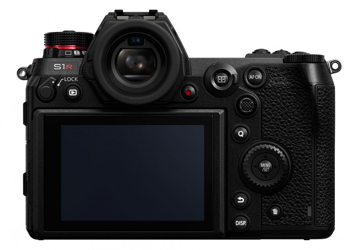 panasonic lumix s1r design