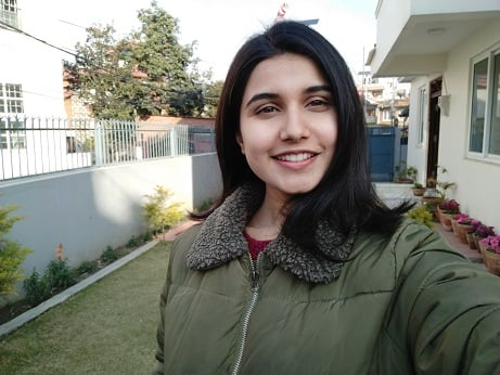 realme 2 pro selfie sample beauty mode off