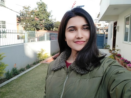 realme 2 pro selfie sample beauty mode on