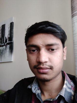 realme c1 selfie