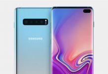 Samsung Galaxy S10 display displaymate
