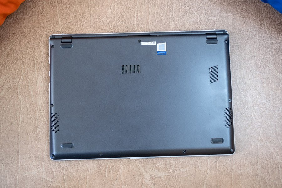 asus vivobook s14 design back