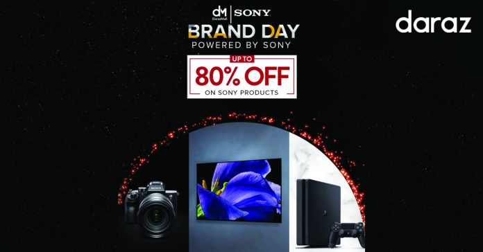 daraz brand day sony